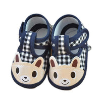 Baby Boy Soft Sole Canvas Sneaker