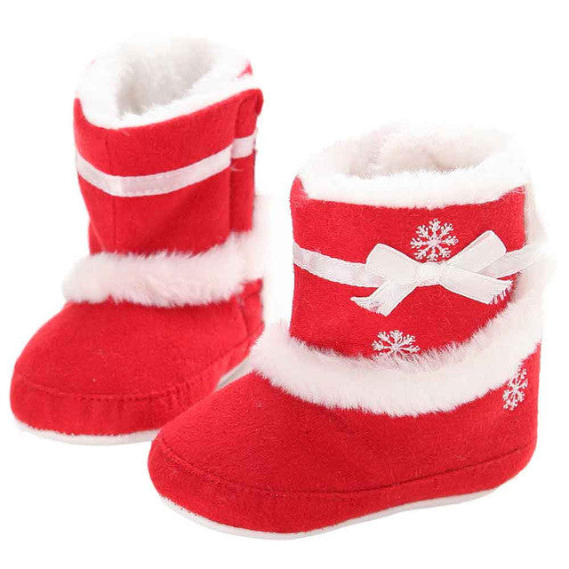 Baby Soft Sole Snow Boots