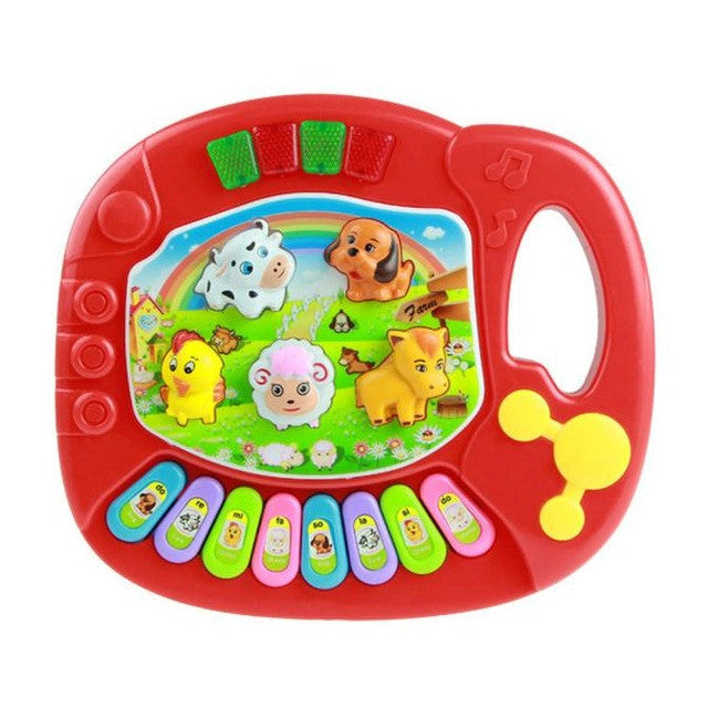 Musical Toy Educational Piano Animal Farm