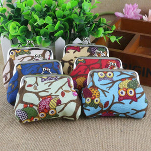 Owl Pattern Purse
