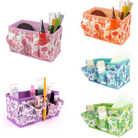 Makeup Cosmetic Storage Box Foldable Container