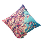 3D Flower Print Cushion