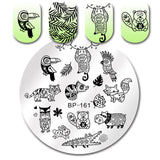 Born Pretty Round Nail Stamping Plate