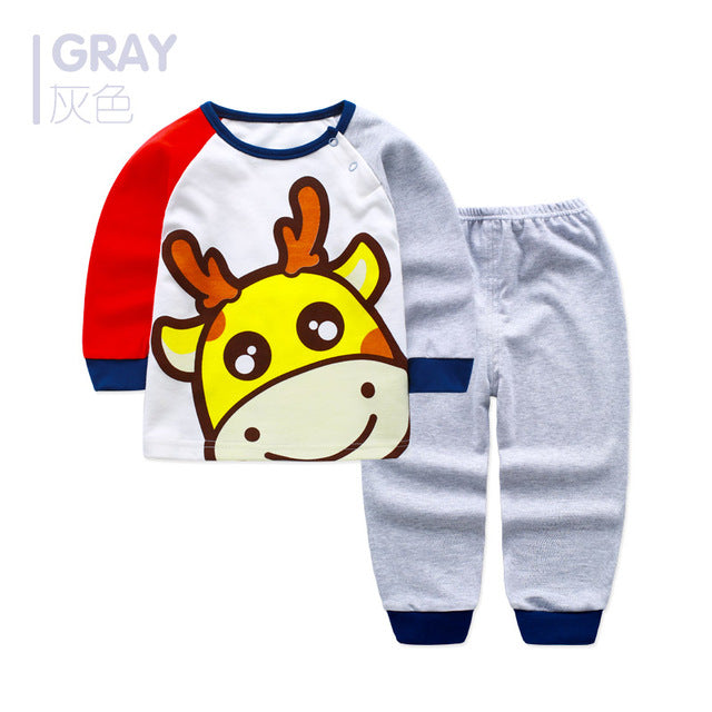 Baby Boy Cartoon Clothing Sets