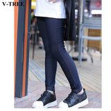 Girls Denim Jeans Elastic Skinny