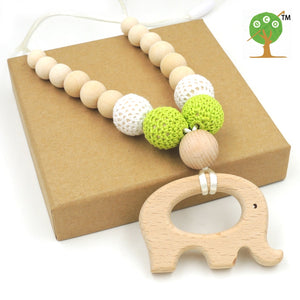 Crochet Teething Necklace