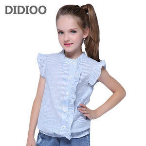 Girls Cotton Blouse