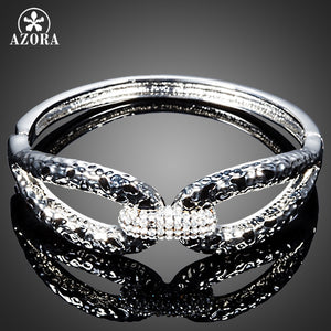 Clear Stellux Austrian Crystal Bangle