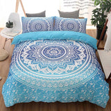 Bedding Sets Duvet Cover Sets Pillow Cover Bed Sheet Chinese Style Polyester 3 PCS