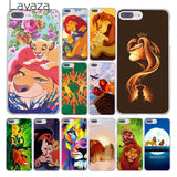 The Lion King Phone Cover For Apple iPhone 10 X 8 7 6 6s Plus 5 5S SE 5C 4 4S Coque Shell