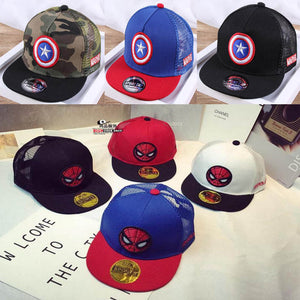 Children Superhero Baseball Cap for 2-9 years old