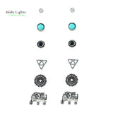 Women's Elephant Stud Earrings
