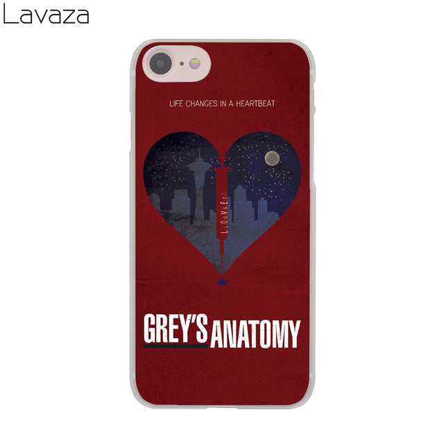 Greys Anatomy Phone Case for Apple iPhone 8 7 6 6S Plus 5 5S SE 5C 4 ...
