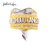 Infinity Hope Childhood Cancer Awareness Bracelet