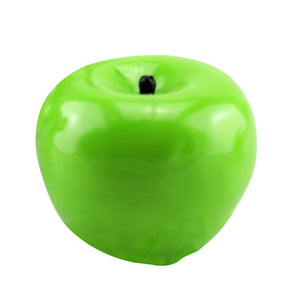 Green Apple Shape Fruit Scented Paraffin Wax Candle