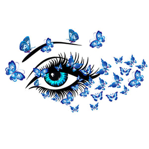 Butterfly Eye Wall Sticker