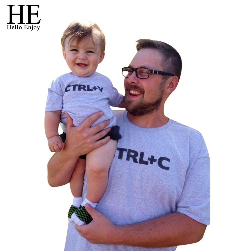 Father & Child CTRL C CTRL V Matching Shirts