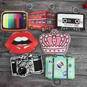 Cute Cartoon Mini Purse 12 Designs