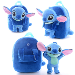Stitch Plush School Backpack