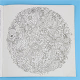 24 Pages Wonderland Exploration Colouring Book