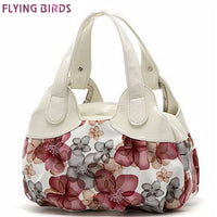 Womens Flower Pattern Handbag