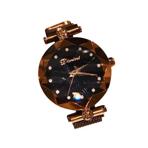 Womens Starry Sky Waterproof Watch