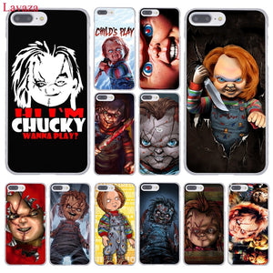Chucky Phone Case for Apple iPhone XR XS Max X 8 7 6 6S Plus 5 5S SE 5C 4S 10
