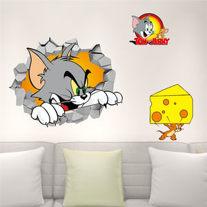 Tom And Jerry Wall Sticker