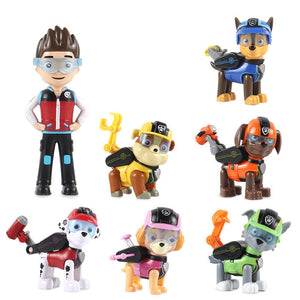 7Pcs/set Paw Patrol Action Figures