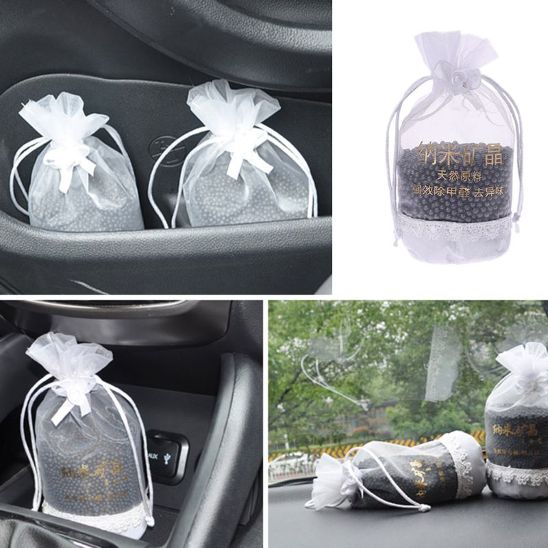 250g Nano-crystal Charcoal Bag Air Freshener