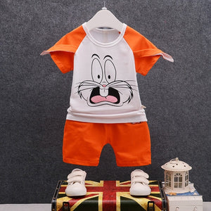 Boys Bugs Bunny Shirt + Shorts Set