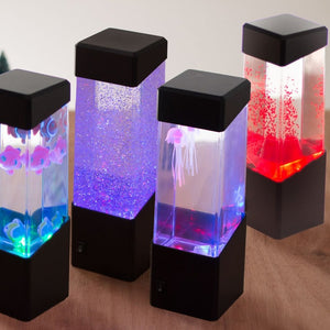 LED Light Jellyfish Lamp
