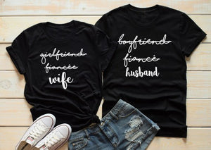 Couples Girlfriend Fiance Wife Shirts