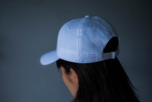 White Strap Back Cap
