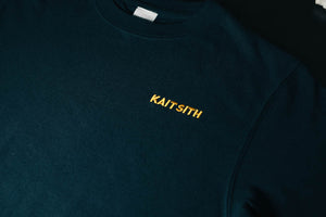 S/S Logo Embroidery T-shirt Navy