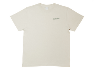 S/S Logo Embroidery T-shirt Sand