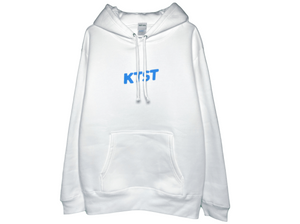 Pop Log Hoodie White