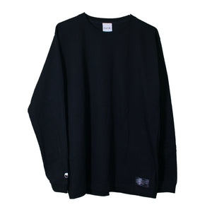 Cotton Long Sleeve T-Shirt Black