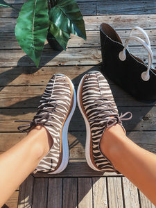 OTBT - ALSTEAD in ZEBRA PRINT Sneakers