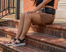 OTBT - NOVA in CHESTNUT Wedge Sandals