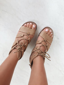 OTBT - RIVERFRONT in MID TAUPE Wedge Sandals