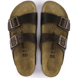 Arizona Oiled Leather (soft footbed, narrow width)