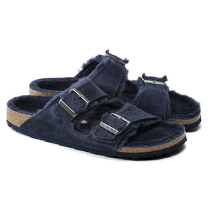 Birkenstock Arizona Shearling Suede Night