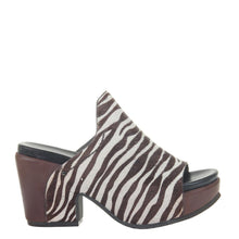 CORINTH 2 in ZEBRA PRINT, right view