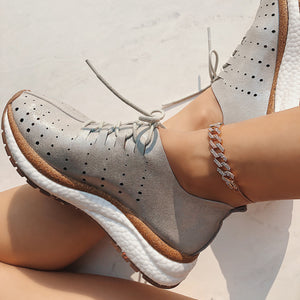 OTBT - ALSTEAD in SILVER Sneakers