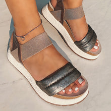 OTBT - LIBRA in SILVER Wedge Sandals