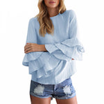 Ruffled Loose Top