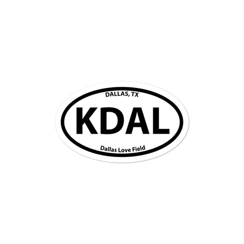 KDAL / DAL - Dallas Love Field - Sticker
