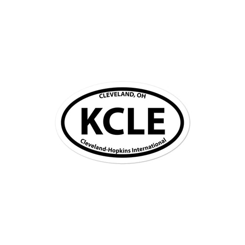 KCLE / CLE - Cleveland-Hopkins International - Sticker