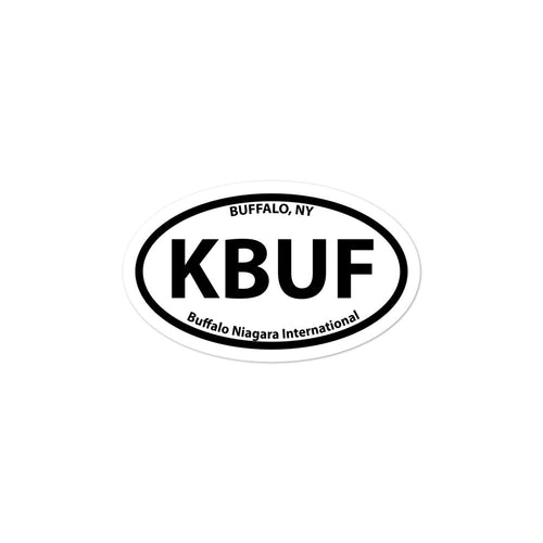 KBUF / BUF - Buffalo Niagara - Sticker